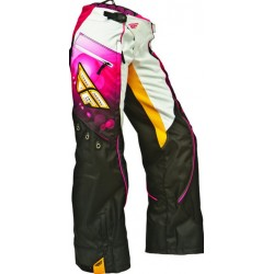 Детские штаны для мотокросса Fly Racing - 2014 Kinetic Girls Over Boot Pant Pink/Orange